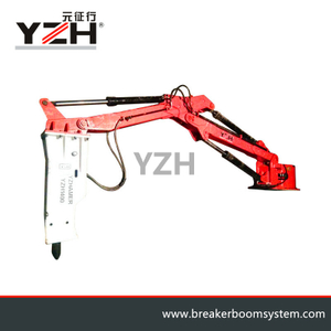 Fixed Type Swining Hydraulic Rock Breaker Boom System For Gyratory Crusher