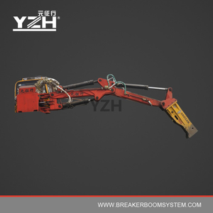 Electric Hydraulic Rock Breaker Booms System