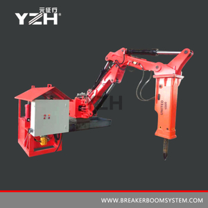 Hammer Stationary Manipulators With A Hydraulic Breaker