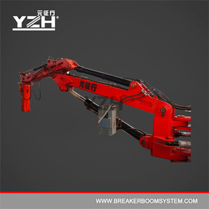 Hydraulic Robot Manipulator Arm With A Breaker Hammer